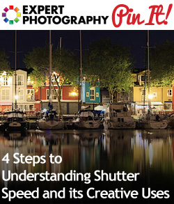 4 Steps to Understanding Shutter Speed and its Creative Uses1 4 Steps to Understanding Shutter Speed and its Creative Uses