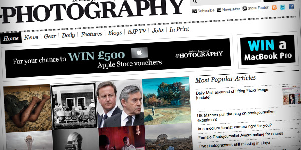 British Journal Of Photography Top 20 Photography Websites 2011