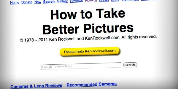 Ken Rockwell Top 20 Photography Websites 2011
