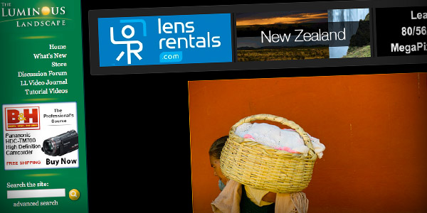 Luminous Landscape Top 20 Photography Websites 2011