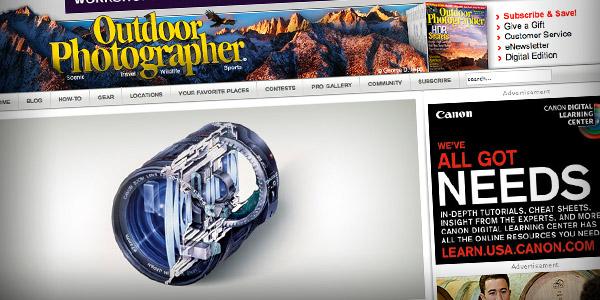 Outdoor Photographer Top 20 Photography Websites 2011