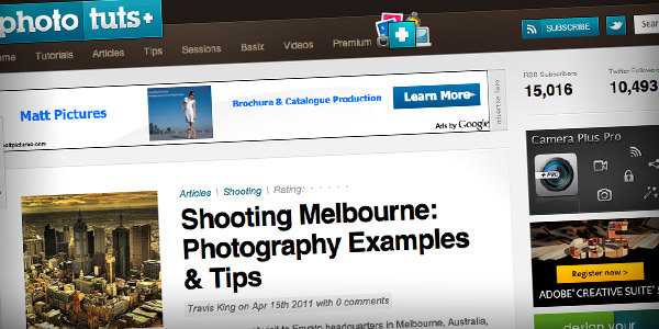 Photo Tuts Top 20 Photography Websites 2011