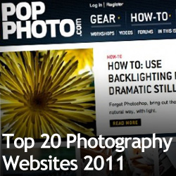 Top 20 Photography Websites 2011