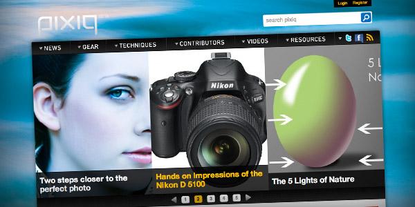 pixiq Top 20 Photography Websites 2011