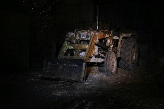 A dark photo of industrial machinery - photography exposure