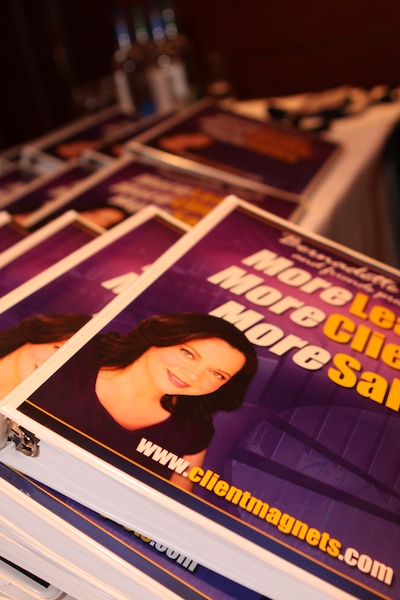 Promo photograph of books