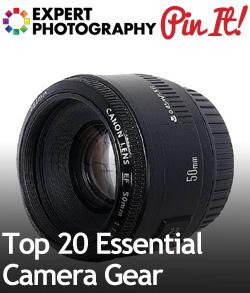 Top 20 Essential Camera Gear1 Top 20 Essential Camera Gear
