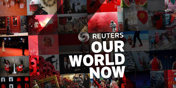 The Our World Now is a photography book by Reuters