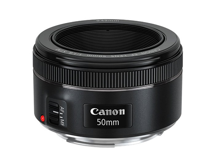 A canon 'nifty fifty' 50mm lens