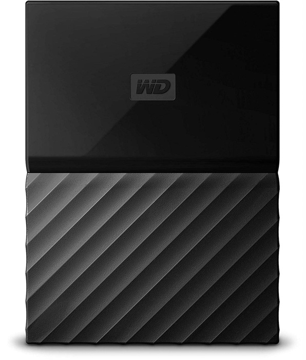 A WD 4TB My Passport external harddrive