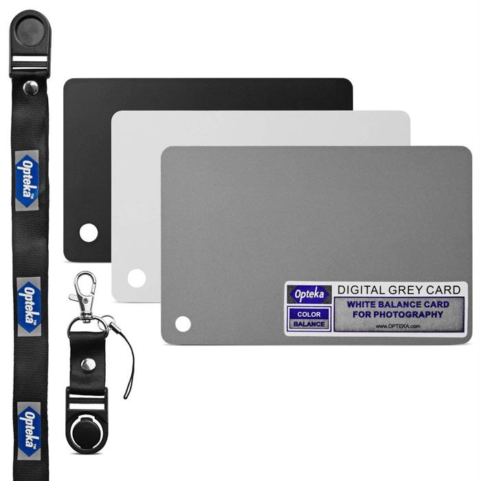 Opteka Pocket-Sized Grey Card - awesome camera gear