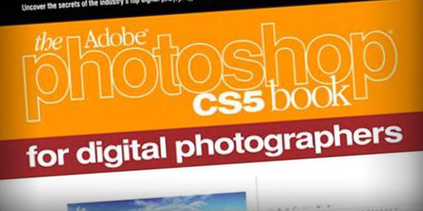 Adobe's Photoshop CS5 is a helpful photography book