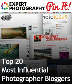 Top 20 Most Influential Photographer Bloggers Top 20 Most Influential Photographer Bloggers