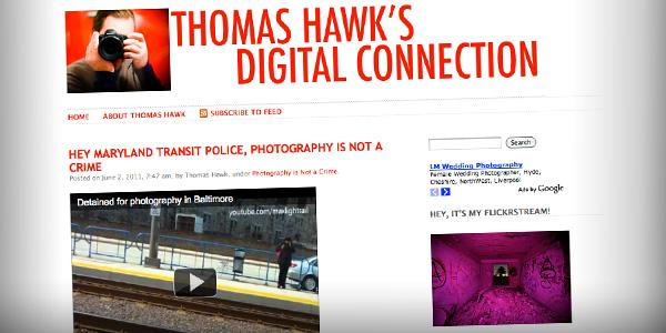 Thomas Hawk - Photography Bloggers