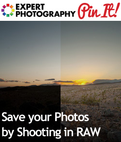 Save your Photos by Shooting in RAW