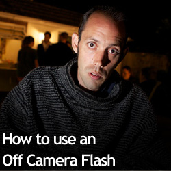 How to use an Off Camera Flash