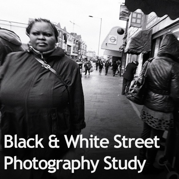 Black & White Street Photography Study