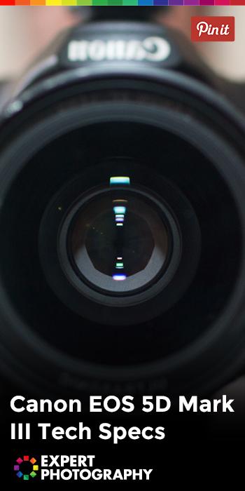 Canon EOS 5D Mark III Tech Specs