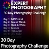 30 Day Photography Challenge Project