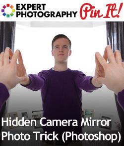 Hidden Camera Mirror Photo Trick (Photoshop)