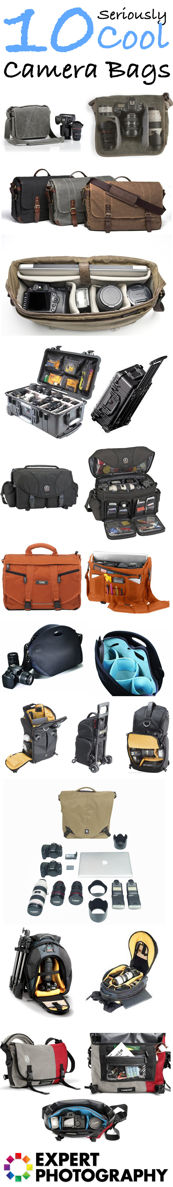 10 Seriouly Cool Camera Bags1 10 Seriously Cool Camera Bags