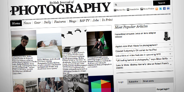 BJP Top 20 Photography Websites 2012
