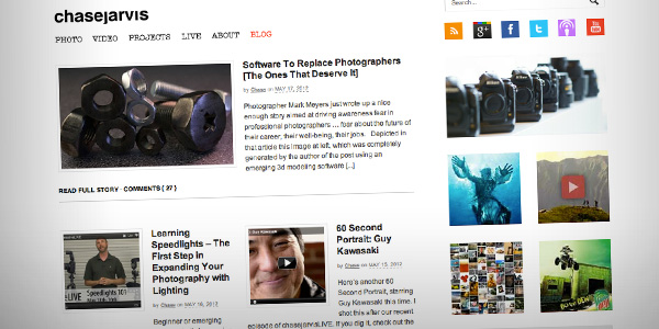 Chase Jarvis Top 20 Photography Websites 2012