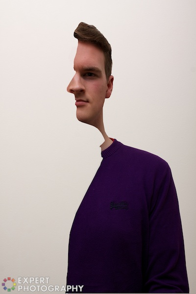 Picasso Style Cross-Section Self Portrait Trick (Photoshop ...