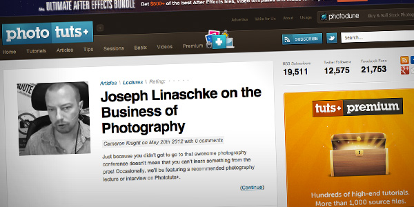 Photo Tuts Top 20 Photography Websites 2012