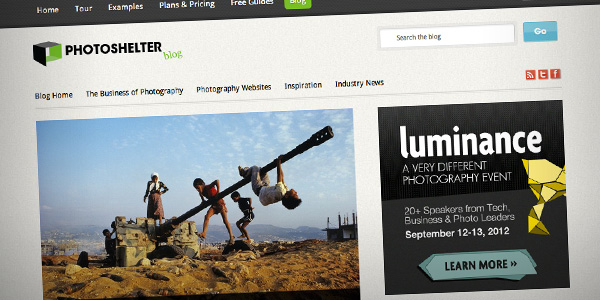 PhotoShelter Top 20 Photography Websites 2012