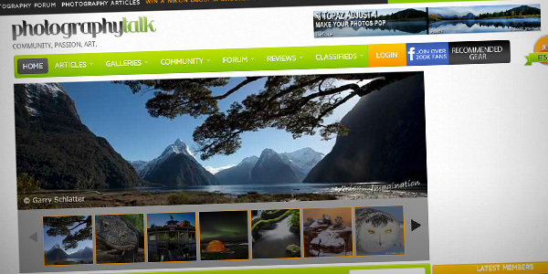Photography Talk Top 20 Photography Websites 2012