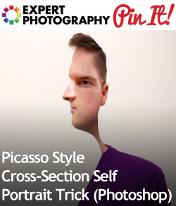 Picasso Style Cross-Section Self Portrait Trick (Photoshop)