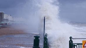 Rough Sea Hove Jan 2014 - January 04, 2014 - 1