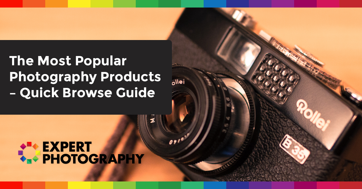The Most Popular Photography Products