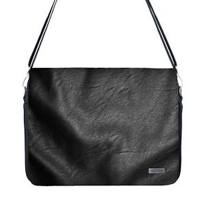 One Bag V2 Camera and Laptop Bag with Black Leather Cover and Photo Insert
