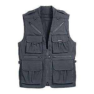 Tamrac 153017M World Correspondent's Medium Vest - Black