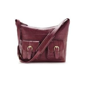 Ona Venice Full-Grain Leather SLR/DSLR Camera Bag - Plum