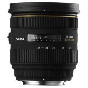 Sigma 24-70mm f/2.8 IF EX DG HSM AF Standard Zoom Lens