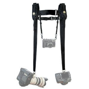 California Sunbounce Sun Sniper DHP Double Press Harness, Holds 2 Professional D-SLR Cameras