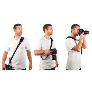 Custom SLR Camera Glide Strap + C-Loop Combo - Complete Camera Strap System