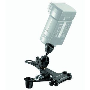 Manfrotto 175F-1 Spring Clamp with Flash Shoe