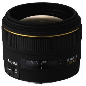 Sigma 30mm f/1.4 EX DC Lens