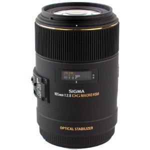 Sigma 105mm F2.8 EX DG OS HSM Macro Lens