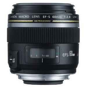 Canon EF-S 60mm f/2.8 Macro USM Digital SLR Lens for EOS Digital SLR Cameras