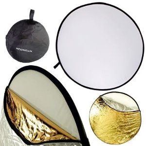 """Neewer 110CM 43"""" 5-in-1 Collapsible Multi-Disc Light Reflector"""