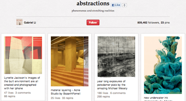 abstractions Top 20 Photography Pinterest Boards