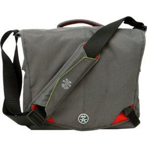 Crumpler MD0809A 8 Million Dollar Home Grey/Red Digital SLR Camera 13 inch Laptop Shoulder Bag