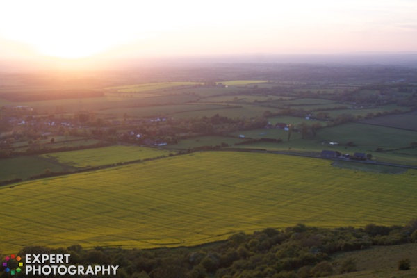 Devils Dyke Sunset 2012 05 13 at 21 28 04 75 Where to Focus When Taking a Photo