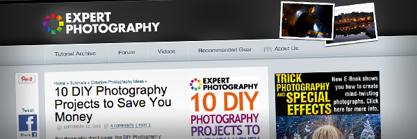 10 DIY Photography Projects to Save You Money Top 50 Photography Posts 2012