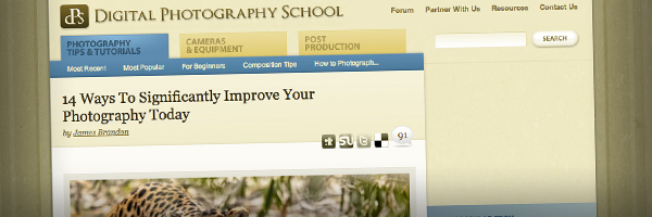 14 Ways To Significantly Improve Your Photography Today  Top 50 Photography Posts 2012